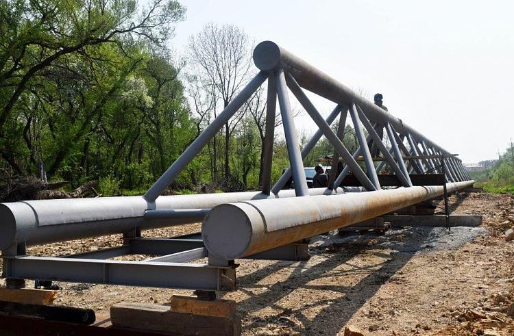В Уссурийске началась активная стадия строительства газопровода