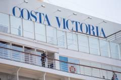 Трансокеанский лайнер Costa Victoria впервые посетил Владивосток