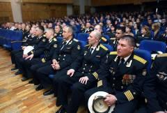 Приморских моряков поздравляют с 285-летием ТОФ России