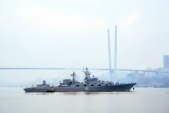 Тихоокеанскому флоту 21 мая исполняется 286 лет
