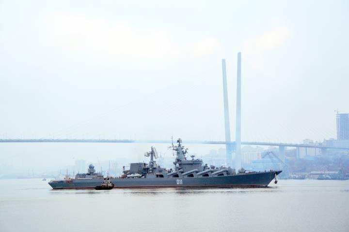 Отряд кораблей ТОФ прибыл в Джакарту