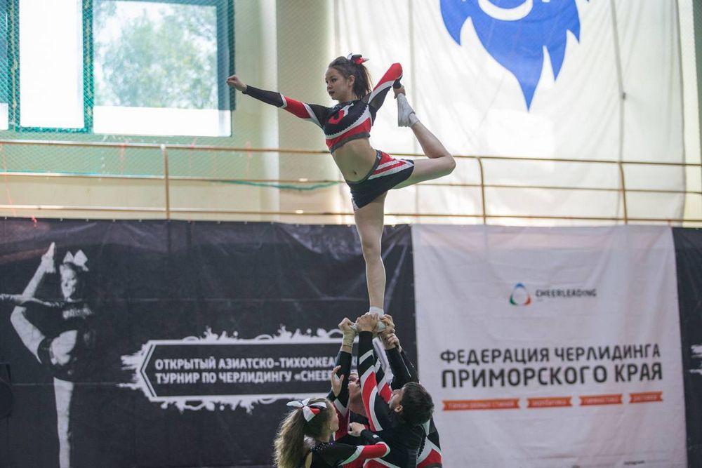 Во Владивостоке прошел турнир по черлидингу Cheer Unity»