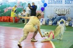 Международная выставка собак «Дальний Восток-2016» прошла во Владивостоке