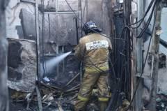 Видео крупного пожара в центре Владивостока выложили в Сеть