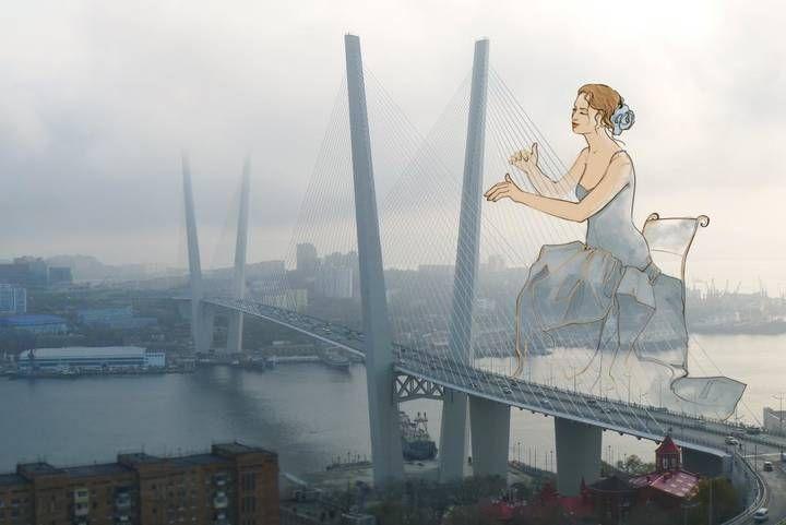 Художница из Владивостока создала открытки, пропитанные историей города