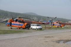 Вертолет совершил аварийную посадку в Приморье
