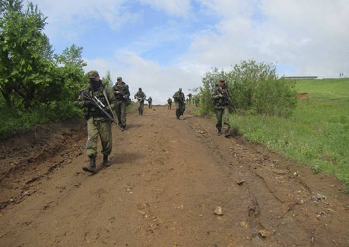 Команда общевойсковой армии из Приморья победила в конкурсе «Отличники войсковой разведки»