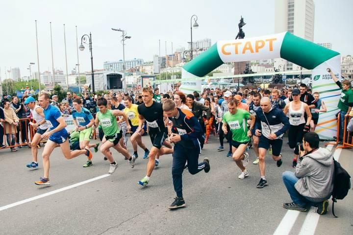 На старт «Зеленого марафона» вышли 5,5 тысячи дальневосточников