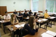Школьники Владивостока сдают ЕГЭ по русскому языку