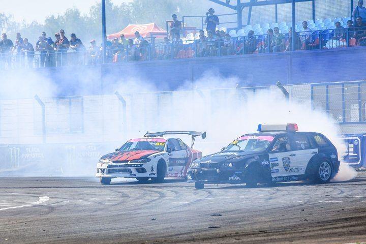 На втором этапе РДС автомобиль приморской гонщицы загорелся