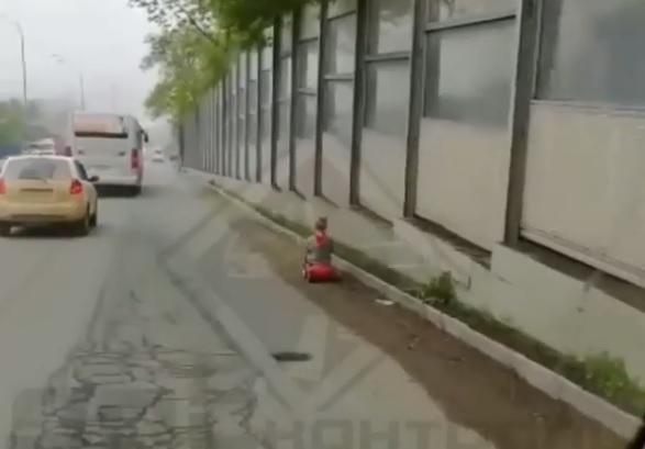 Юный автомобилист заставил понервничать водителей Владивостока