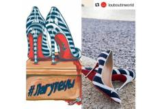 Обувная компания Christian Louboutin представила новые туфли «лагутены»