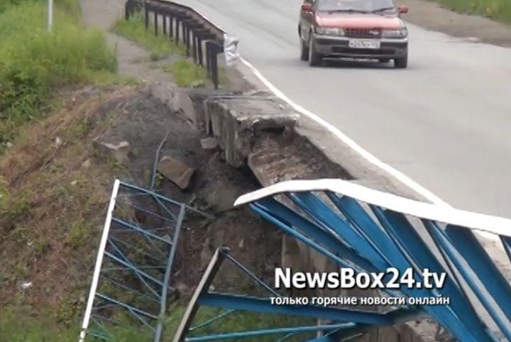 Еще один мост пришел в негодность в Приморье