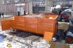 Следующей зимой во Владивостоке грязный снег не будут сбрасывать в море?