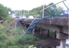 Обрушение очередного моста в Приморье произошло по вине негабаритного транспортного средства