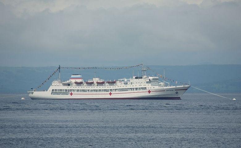 Госпитальное судно «Иртыш» вернулось во Владивосток