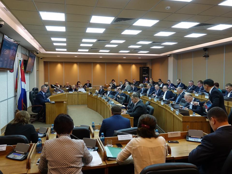 Приморским парламентариям презентовали «суперпрограмму»