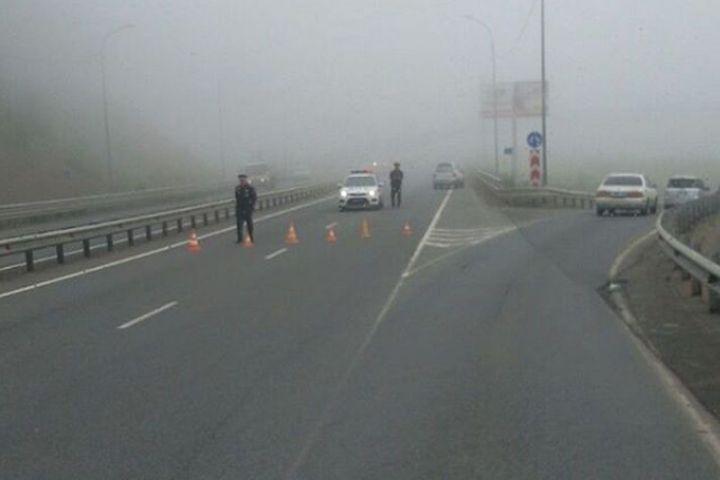 Объездная трасса Седанка - Патрокл снова закрыта во Владивостоке