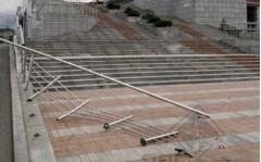 Незадачливый автомобилист испортил внешний облик Приморской сцены Мариинского театра