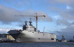 Бывший вертолетоносец «Владивосток» отправили из Франции в Египет