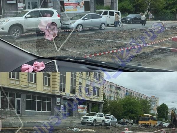 ДТП во Владивостоке заблокировало движение автотранспорта