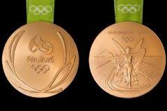 В Бразилии представили дизайн медалей Олимпийских игр в Рио-де-Жанейро