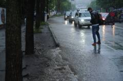 ГИБДД Владивостока сообщила о подтоплении ряда автодорог