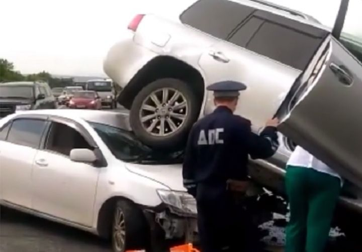 Тяжелое ДТП в Кипарисово-2 спровоцировал водитель «Лексуса»