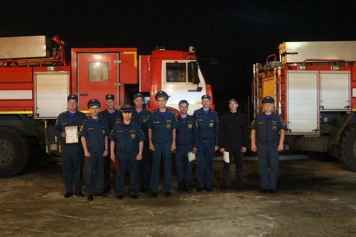 Автопробег пожарных машин Подмосковье - Уссурийск закончился