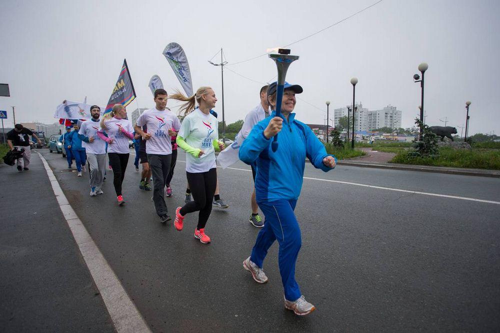 Во Владивостоке стартовал «Бег мира»