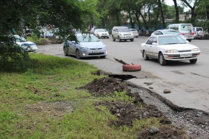 Очередные «раскопки» начались в одном из районов Владивостока
