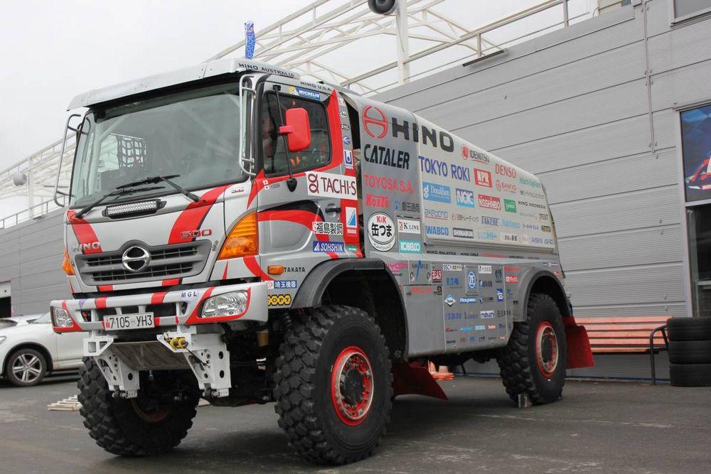 Во Владивосток приехал чудо-грузовик из Японии