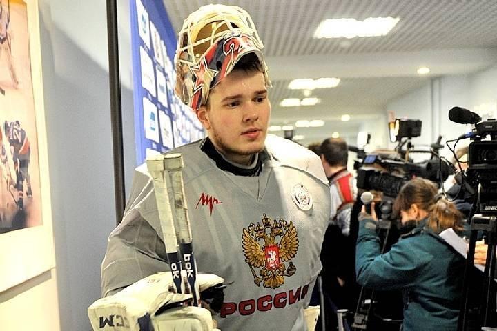 Внук легендарного хоккеиста Третьяка показал свой «адмиральский» шлем