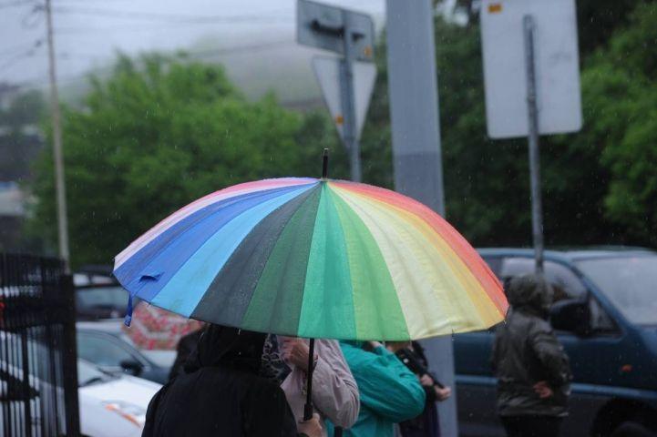 Очень сильный дождь прогнозируют синоптики во Владивостоке к вечеру