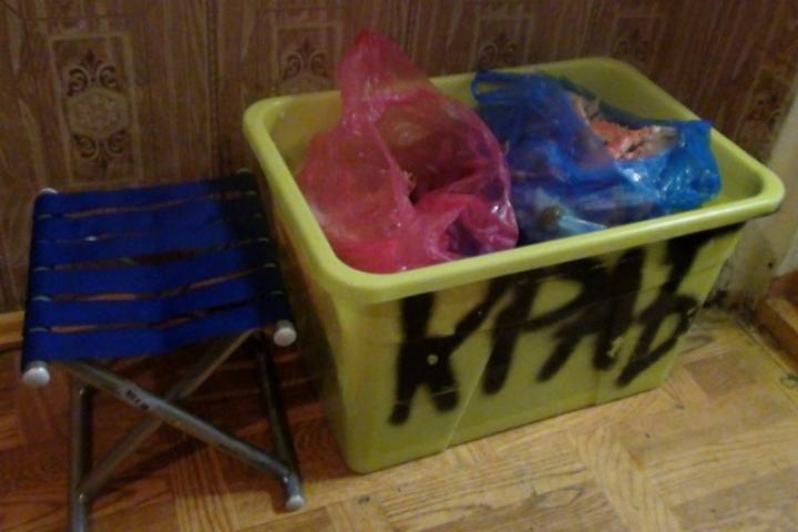 Более 20 килограммов краба изъяли у придорожного торговца в Приморье