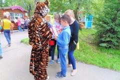 Приморские экологи рассказали соотечественникам об амурском тигре