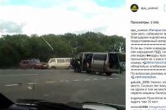 Серьезное ДТП с участием трех машин произошло в районе Кипарисово-2