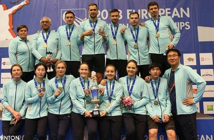 Приморская команда по бадминтону завоевала Кубок европейских чемпионов