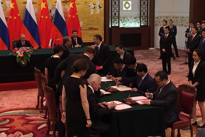 В Пекине подписали договор о вступлении ХК «Красная звезда Куньлунь» в КХЛ