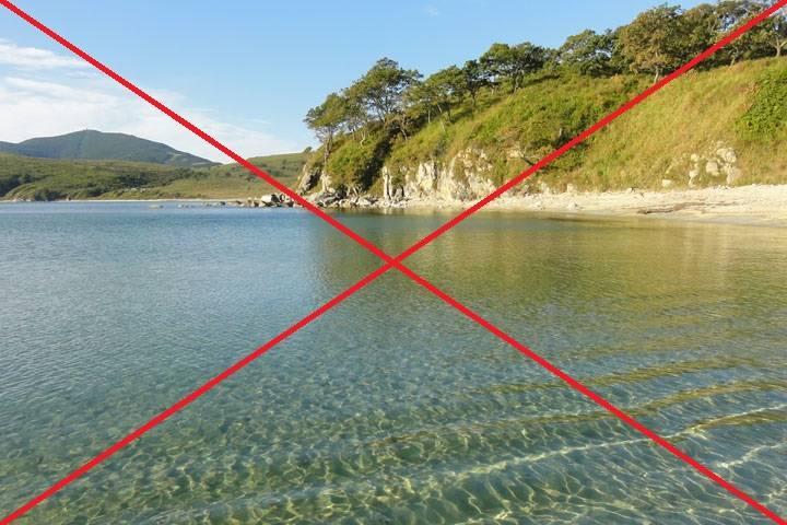 Популярное место пляжного отдыха закрыли в Приморье