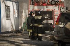 В Приморье на аэродроме загорелся военный самолет