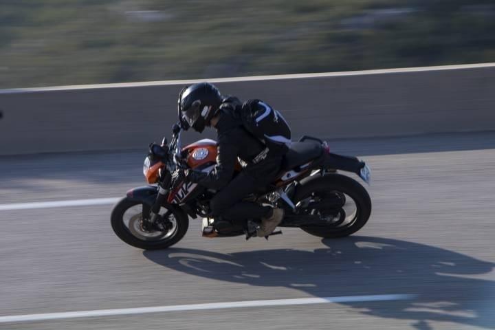 Приморский мотоциклист «забыл, что значит страх»