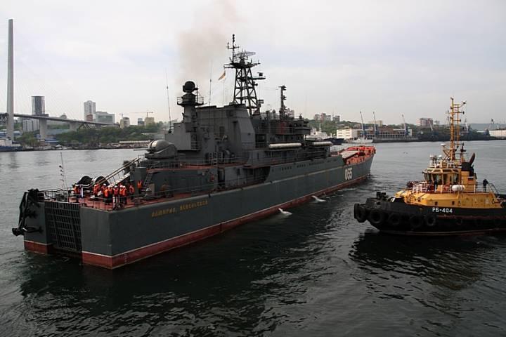 Министр обороны России приказал провести военно-морской парад в День ВМФ во Владивостоке