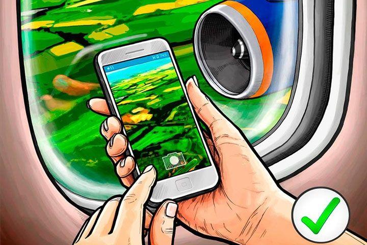 «Аэрофлот» разрешил пользоваться электронными устройствами при взлете и посадке