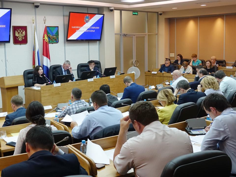 Парламентарии детально рассмотрели все планируемые изменения в бюджете Приморья