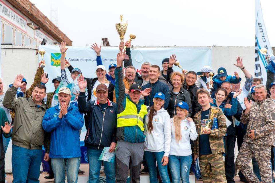 В Приморье определили лучших рыбаков