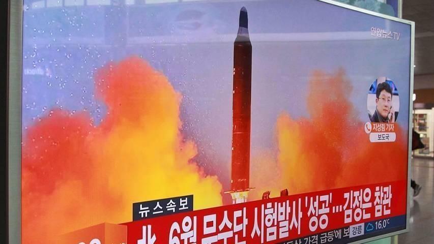 КНДР осуществила пуск очередной ракеты