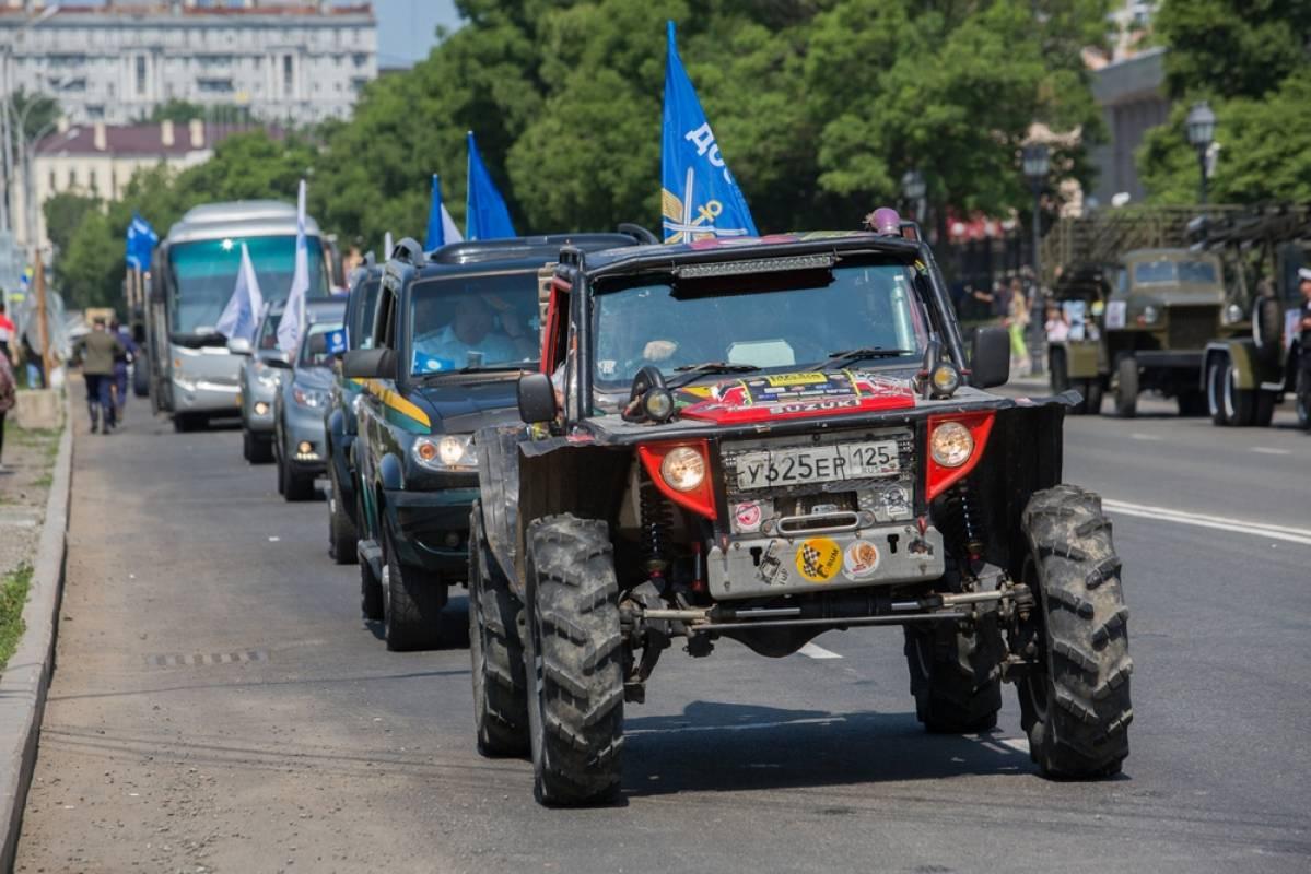 В Приморье стартовал международный автопробег