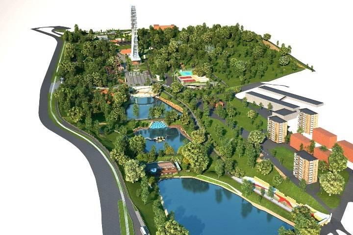 Власти рассказали, когда парк Минного городка станет шикарным местом отдыха
