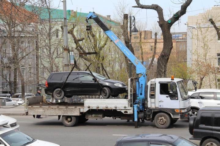 Неестественный отбор: в центре Владивостока эвакуировали всех, кроме Lexus